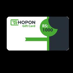 Shopon Gift Card - RS. 1000